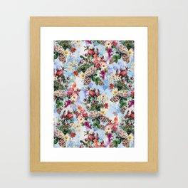 Summer Botanical Garden IX-II Framed Art Print