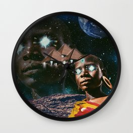 You're Not  From Around Here Are You? Wall Clock
