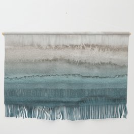 WITHIN THE TIDES - CRASHING WAVES TEAL Wall Hanging
