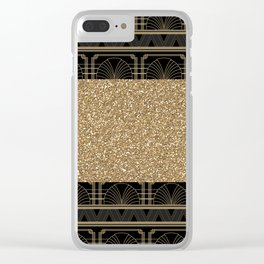 Flapper glamour Clear iPhone Case