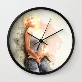 Let Loose III Wall Clock