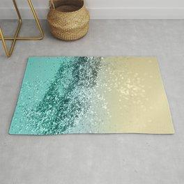 Lemon Twist Beach Glitter #2 #shiny #decor #art #society6 Rug