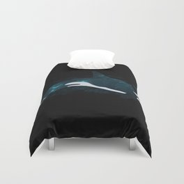 Space Whale Duvet Cover