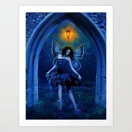 Elven Light Art Print