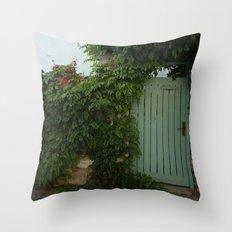 cute house Throw Pillow