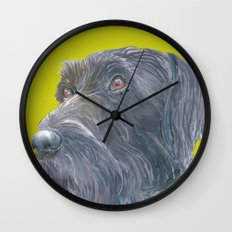 Pointer printed from an original painting by Jiri Bures Wall Clock
