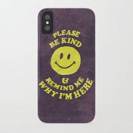 Remind Me iPhone Case
