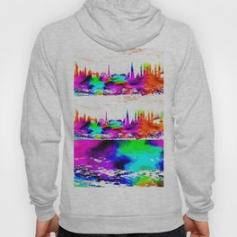 The International Skyline Watercolor Hoody