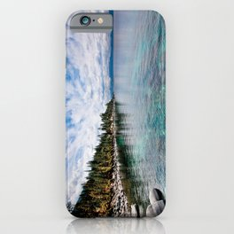 Tranquility Lake Tahoe iPhone Case