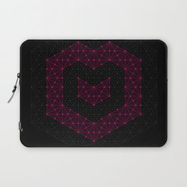 tessellated heart Laptop Sleeve