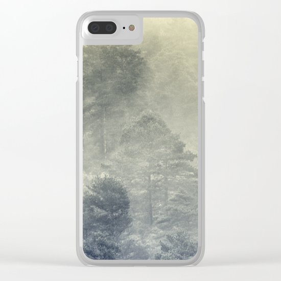 """""""Simbiosis IV"""" Clear iPhone Case"""