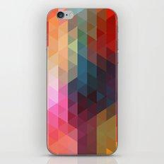 Retro Triangles  iPhone & iPod Skin