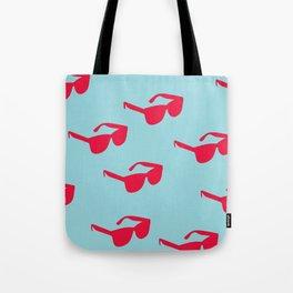 Killin' It - Sunglasses Red And Blue Palette Tote Bag