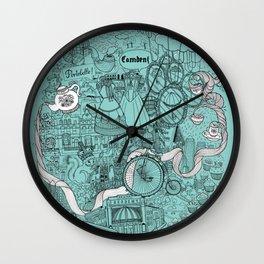 Victorian London Wall Clock