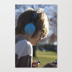 Verliebt mit Musik Canvas Print