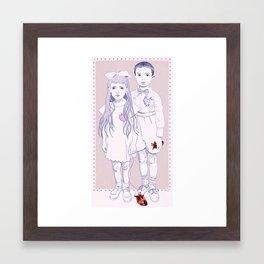 Heart Replacement Framed Art Print