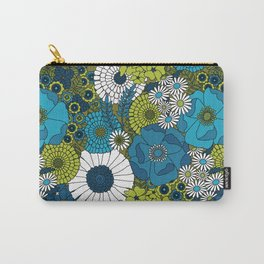 Vintage Florals Chrysanthemum Carry-All Pouch