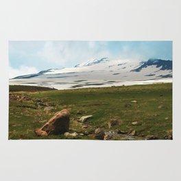 Aragats Mountain Armenia Photo Rug