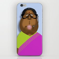 Mrs Curry iPhone Skin