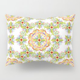 Starflower Blossoms Pillow Sham