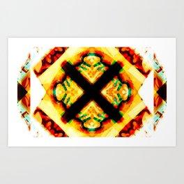 CHIBUKU WHITE Art Print
