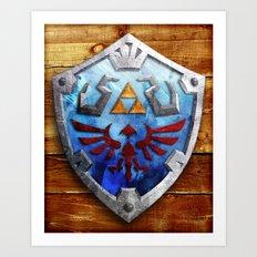 The Hylian Shield Art Print