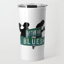 rhythm blvd/blue ave Travel Mug
