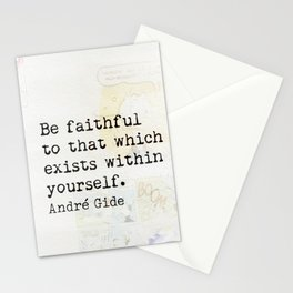 Andre Gide q3. Stationery Cards