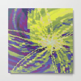 Psychedelica Chroma III Metal Print
