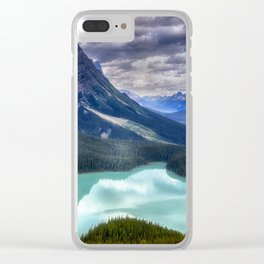 Peyto Lake - Banff National Park Clear iPhone Case