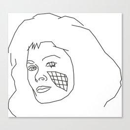 Diana of V Canvas Print