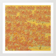 Southern California Buckwheat Art Print