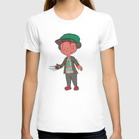 freddy krueger T-shirts featuring Horror Hipsters - Freddy Krueger by Duddy In Motion
