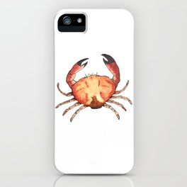 Crab: Fish of Portugal iPhone Case