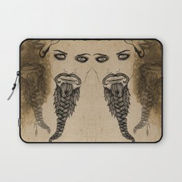The Bearded Lady Olga  Laptop Sleeve