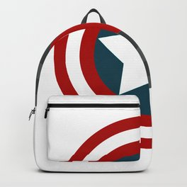 Colorful shield Backpack