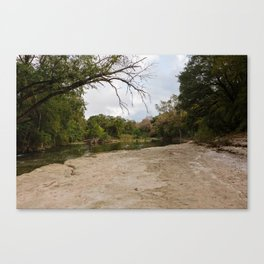 Brushy Creek Canvas Print