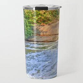 Troubled Waters Travel Mug