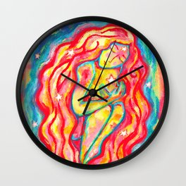 Venusian Star Girl Wall Clock