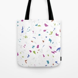 Mixed Colour Terrazzo Tote Bag