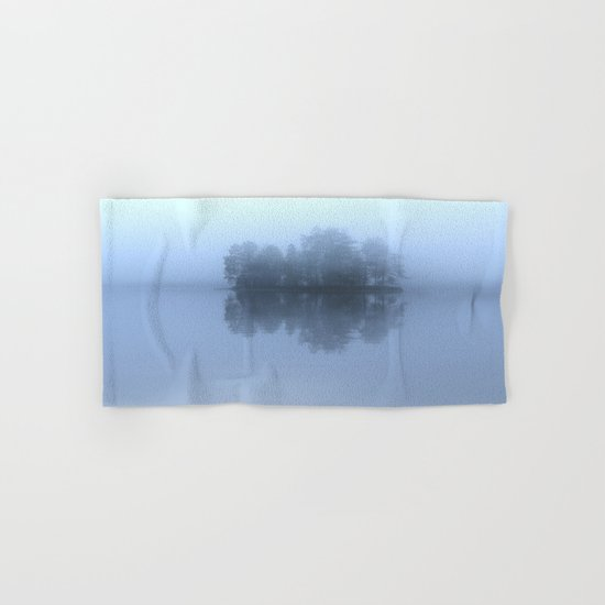 Blue Reflection  Hand & Bath Towel