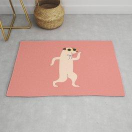 Fun, Little Dancing Dog Rug