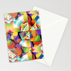 Prismatic Abstract Stationery Cards