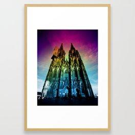 Cologne Cathedral Framed Art Print