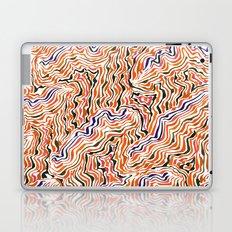 red topography Laptop & iPad Skin