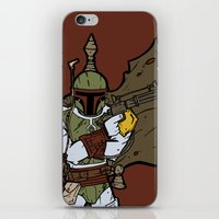 boba fett iPhone & iPod Skins featuring Boba Fett by Twisted Dredz