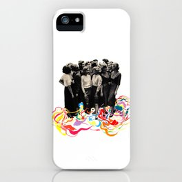 We are all cool though! iPhone Case