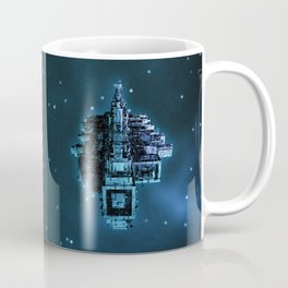 Leviathan BLUE / Keep on trucking Coffee Mug