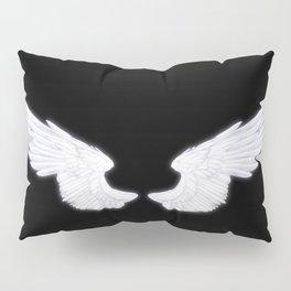 White Angel Wings Pillow Sham