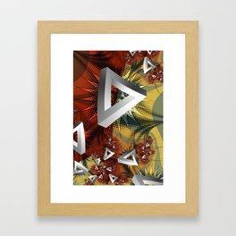 Biff Pow Zap Framed Art Print